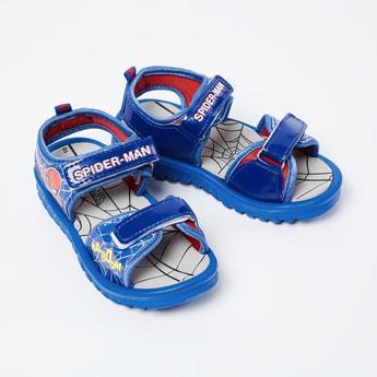 BIOWORLD Spiderman Print Sandals