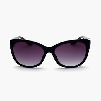 BEBE Women UV-Protected Cateye Sunglasses- BEBE3038C2S