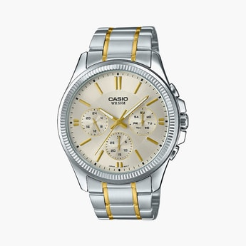 CASIO Men Water-Resistant Chronograph Watch - A1657