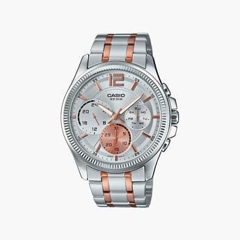 CASIO Enticer Multi Dial Men's Watch - MTP-E305HRG-7AVIF (A1662)