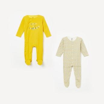 FS MINI KLUB Printed Sleepsuit- Pack of 2