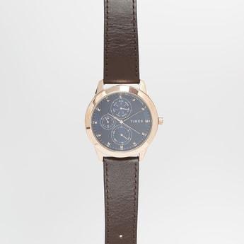 TIMEX Men Water-Resistant Multifunctional Watch - TWEG18504