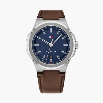 TOMMY HILFIGER Men Analog Watch with Leather Strap - TH1791645