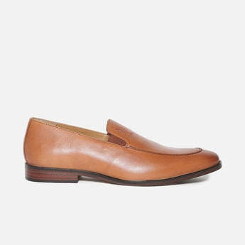 U.S. POLO ASSN. Leather Slip-On Formal Shoes