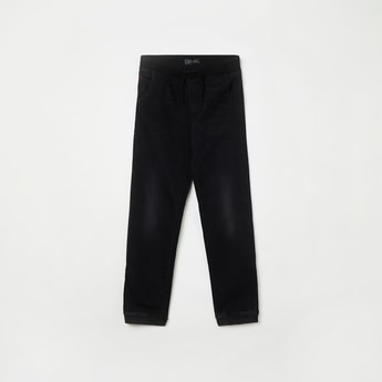 INDIAN TERRAIN Stonewashed Slim Fit Jogger Jeans
