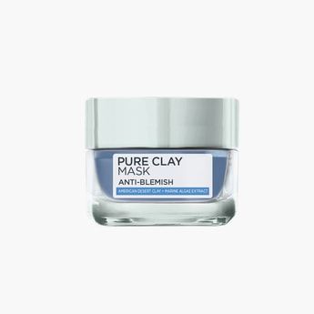 L'OREAL PARIS Pure Clay Anti-Blemish Blue Mask