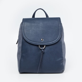 CODE Textured Colourblock Backpack