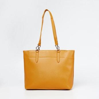 CODE Solid Zip-Closure Tote Bag