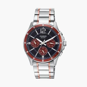CASIO Enticer Men Multifunctional Watch - MTP-1374HRG-5AVIF (A1650)