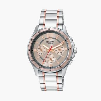 CASIO Enticer Men Multifunctional Watch - MTP-1374HRG-9AVIF (A1651)