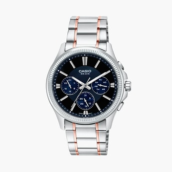 CASIO Enticer Men Multifunctional Watch - MTP-1375HRG-1AVIF (A1658)