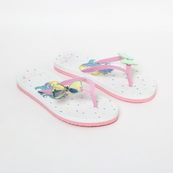 FAME FOREVER Printed Slippers