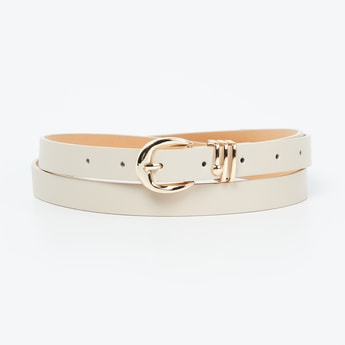 GINGER Solid Slim Belt