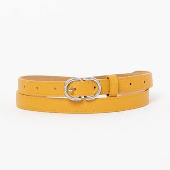 GINGER Textured Slim Belt