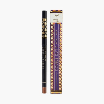 HOUSE OF MAKEUP Double Duty Kohl + Liner - Bronzone