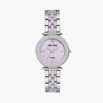 ANNE KLEIN Ceramic Women Analog Watch - AK3159LVSV