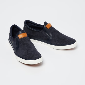 FAME FOREVER Textured Slip-On Casual Shoes