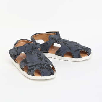 FAME FOREVER Printed Sandals