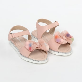 FAME FOREVER Bow-Detailed Sandals