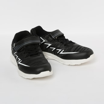FAME FOREVER Textured Lace-Up Shoes