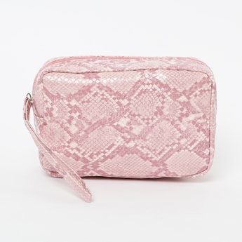 GINGER Reptilain Pattern Pouch
