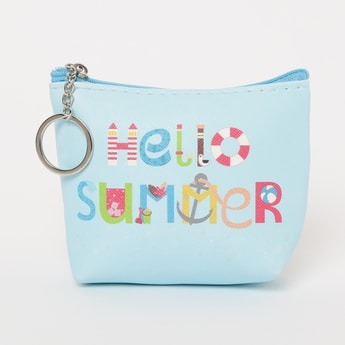 GINGER Typographic Print Pouch