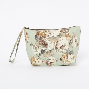 GINGER Floral Print Pouch