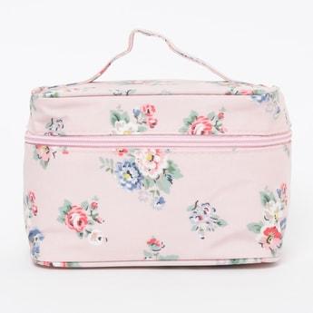 GINGER Floral Print Vanity Bag