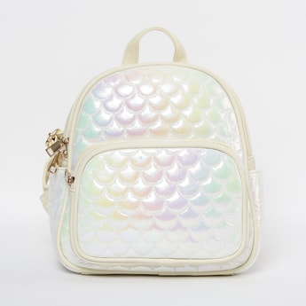 GINGER Quilted Backpack with Pockets