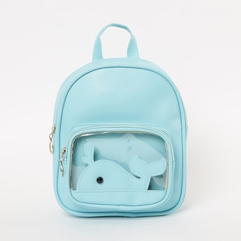 GINGER Backpack with Whale Applique