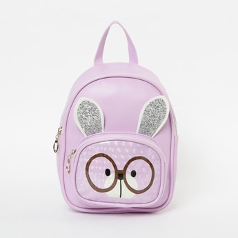 GINGER Printed Backpack with Applique