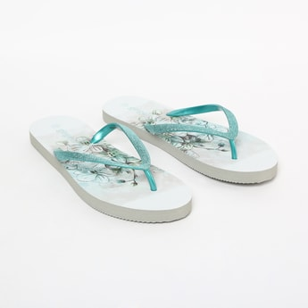 GINGER Printed Casual Slippers