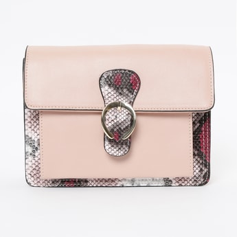 CODE Reptilian Texture Sling Bag
