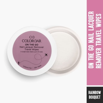 COLORBAR On The Go Nail Lacquer Remover Wipes
