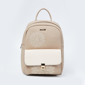 CODE Colourblock Backpack with Engraving