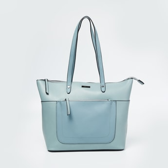 CODE Panelled Tote Bag