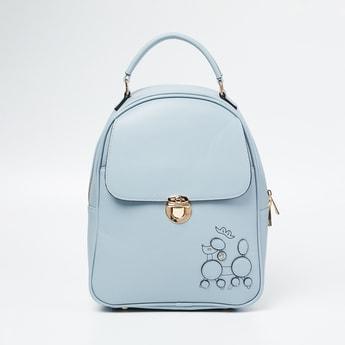 GINGER Applique Detailed Backpack