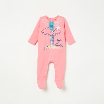 FS MINI KLUB Graphic Print Sleepsuit