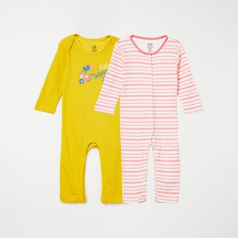 FS MINI KLUB Printed Sleepsuit - Pack of 2 Pcs.