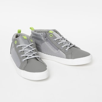 FAME FOREVER Printed Mid-Top Casual Shoes