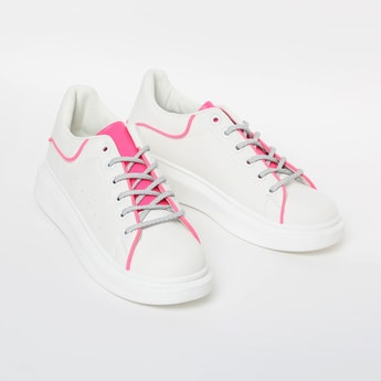 GINGER Colourblock Low-Top Casual Shoes