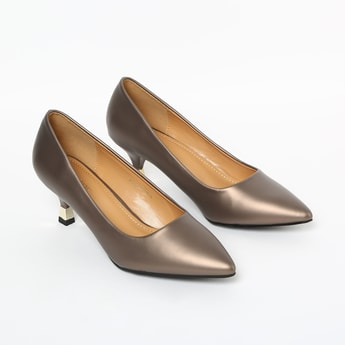 CODE Solid Pointed Toe Pumps