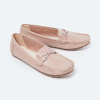 CODE Embellished Loafers