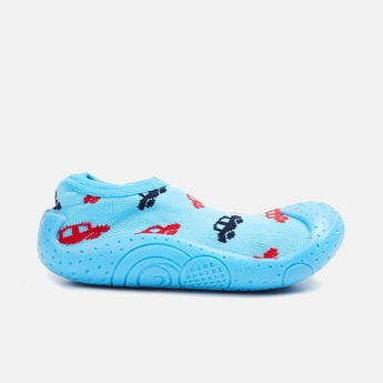 FAME FOREVER Boys Printed Sock-Knit Shoes