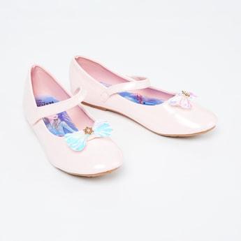 FAME FOREVER Bow Detailed Ballerina Flats