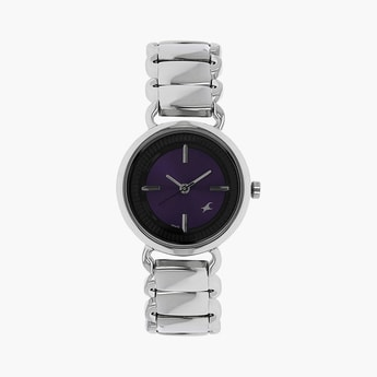 FASTACK Women Solid Analog Watch- NL6117SM02
