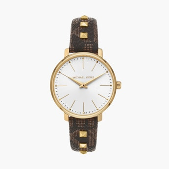 MICHAEL KORS Women Analog Watch with Leather Strap - MK2871I