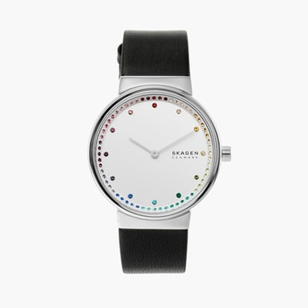 SKAGEN Annelie Women Crystal-Encrusted Analog Watch - SKW2836I