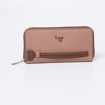 BAGGIT Solid Zip-Closure Wallet