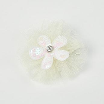 TONIQ KIDS Floral Embellished Clip